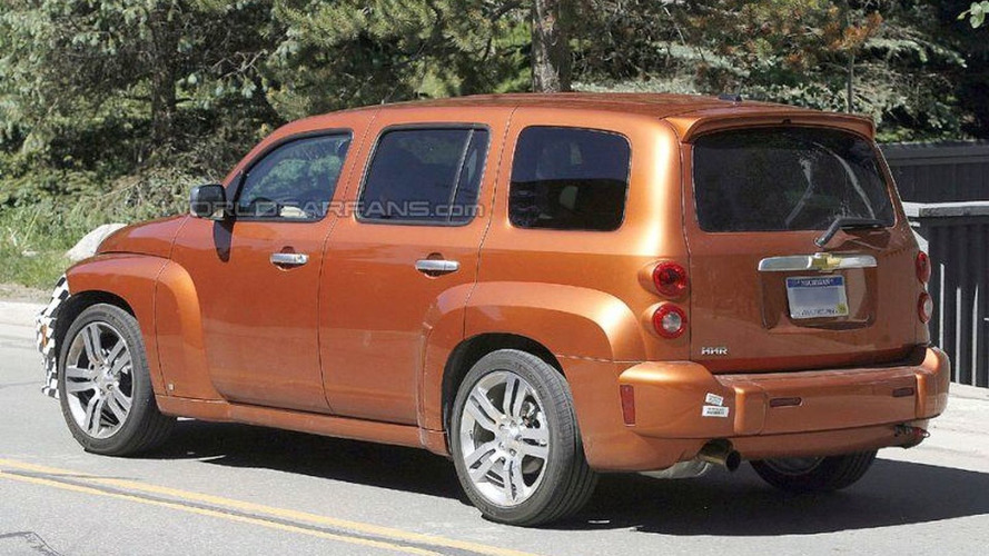 Chevrolet HHR SS Spy Photos