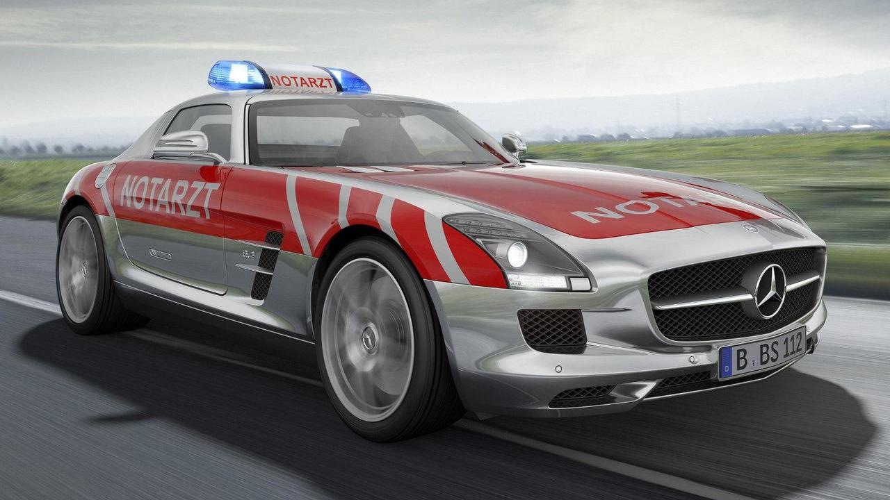 Mercedes SLS AMG Emergency Medical Vehicle - 10.5.2011