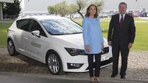 Seat Leon Verde plug-in hybrid prototype 11.6.2013