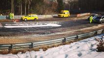 Nurburgring closed to remove giant penis graffiti