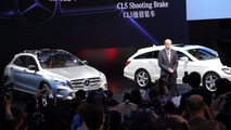 Mercedes-Benz GLA Concept at CLS Shooting Brake at 2013 Auto Shanghai