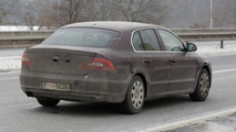 2013 Skoda Superb spy photo 24.01.2013 / Automedia