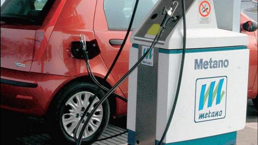Auto a metano, una crescita lenta ma progressiva