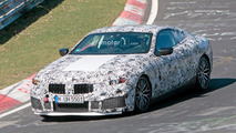 BMW M8 Nürburgring casus fotoğrafları