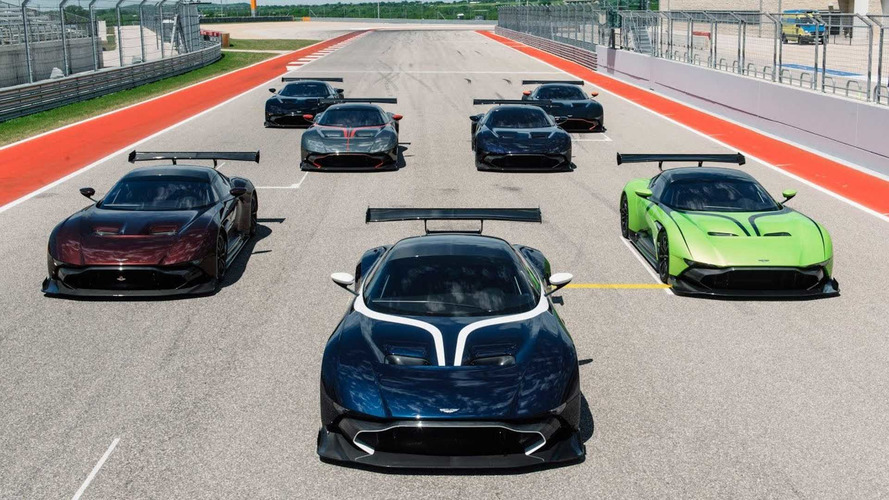 See Aston Martin Vulcans Erupt At Circuit Of The Americas