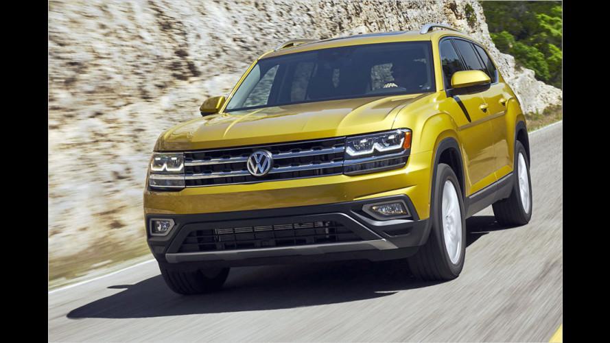 Tiguan in XXL: Der VW Atlas im Test