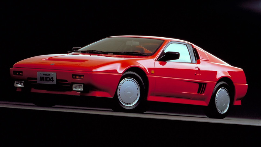 Unuttuğumuz Konseptler: 1985 Nissan MID4, 1987 MID4 Type II