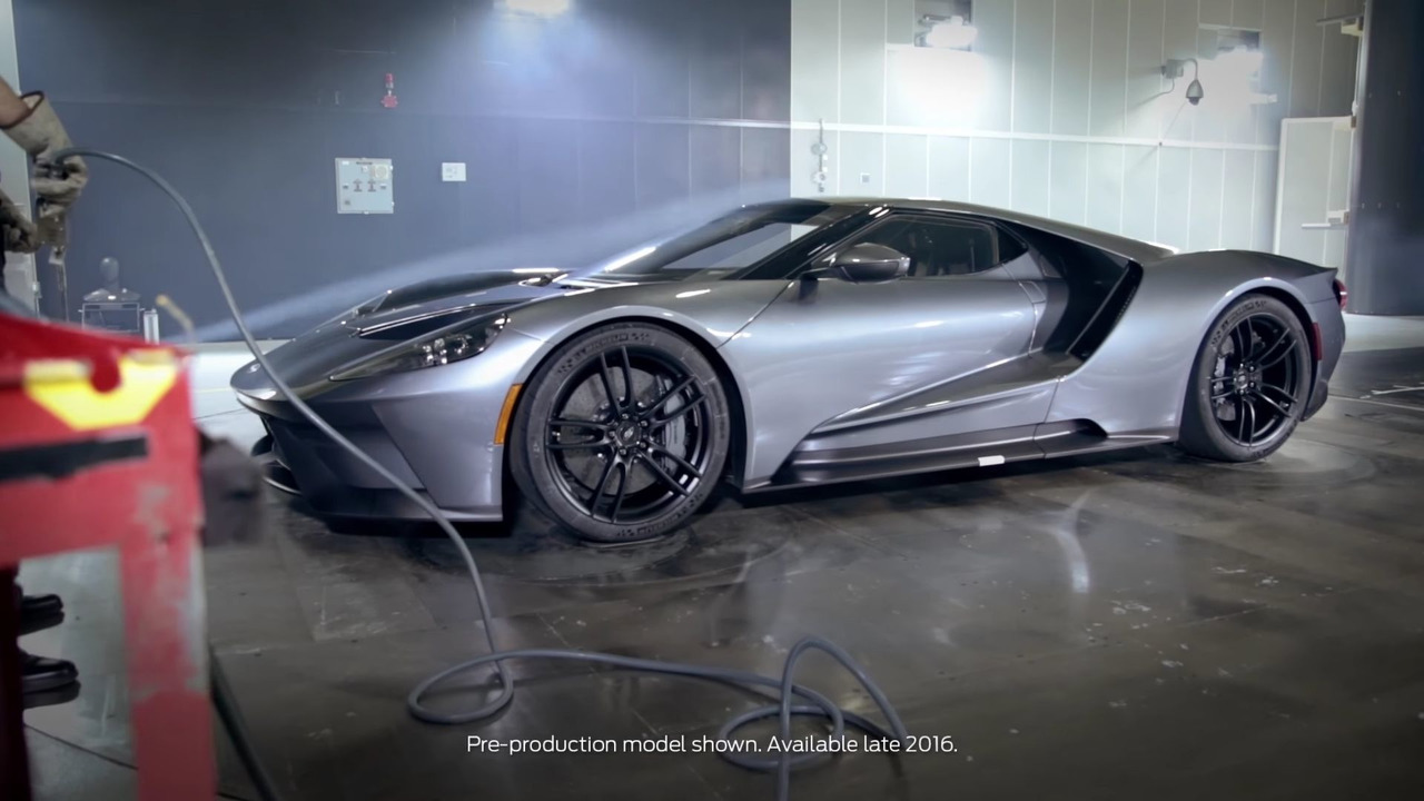 Ford GT Wind Tunnel