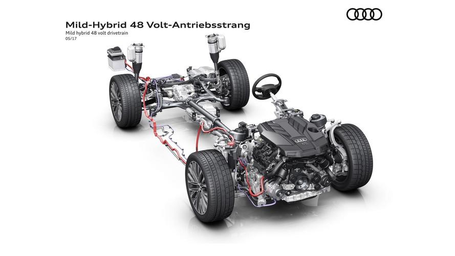 2018 Audi A8, 160 km/s hıza kadar salınma modu sunacak