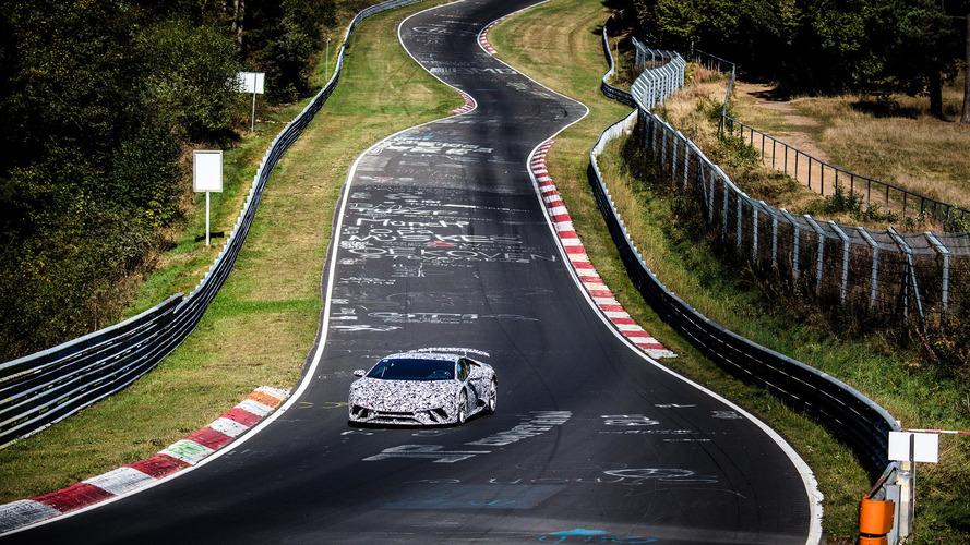 Lamborghini Huracán Performante'nin Nürburgring derecesi belli oldu!