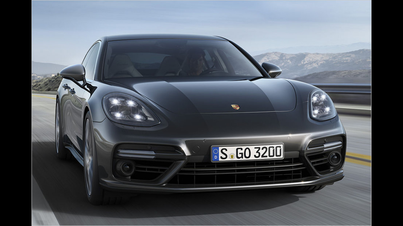 Neuer Porsche Panamera