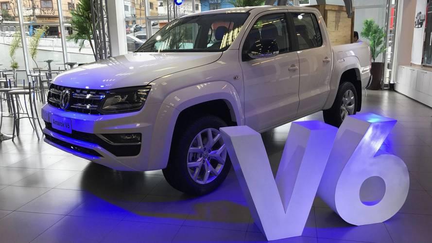 Volkswagen Amarok V6 tem pré-venda iniciada por R$ 187.710