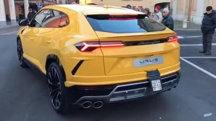 VIDÉO - Le Lamborghini Urus est déjà dans la rue