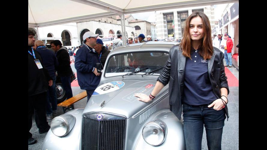 Outside Mille Miglia, così l'ha vissuta Kasia Smutniak [VIDEO]