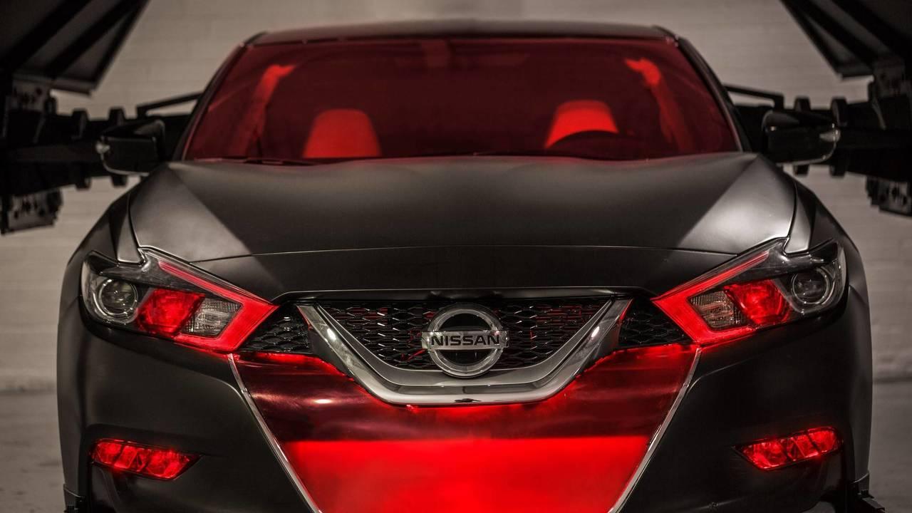 2018 Nissan Maxima Kylo Ren's TIE Silencer