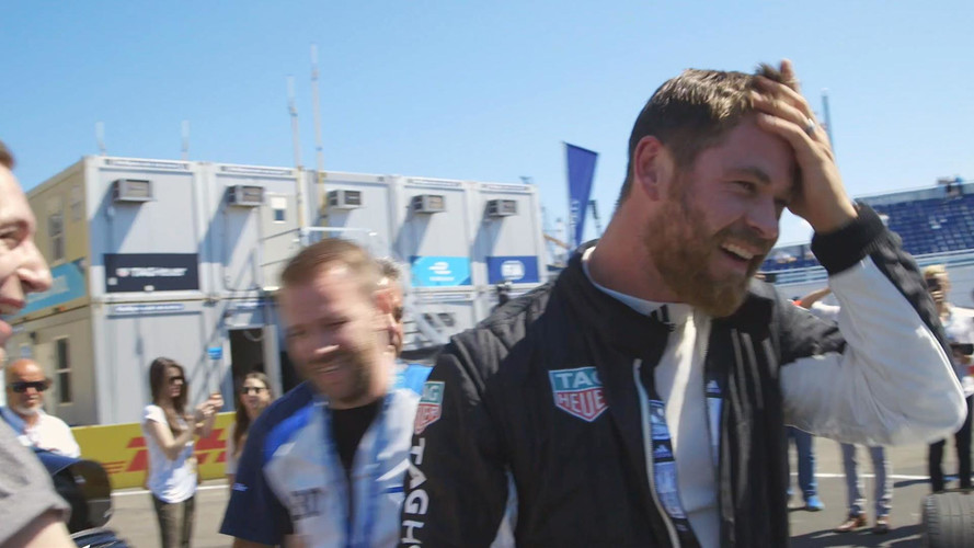 Watch Thor Spin Out A Formula E Car In Brooklyn