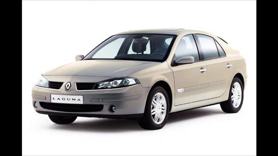 Renault Laguna: Frisch geputzt ins neue Modelljahr
