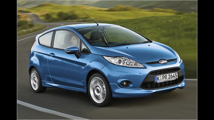 Ford gibt die Preise für den neuen Fiesta bekannt