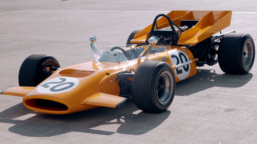 Reunited: Derek Bell Drives His '69 McLaren F1 Car After 48 Years