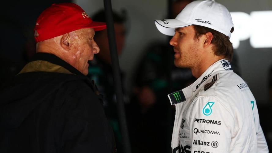 Lauda tells Rosberg to 'sort himself out'