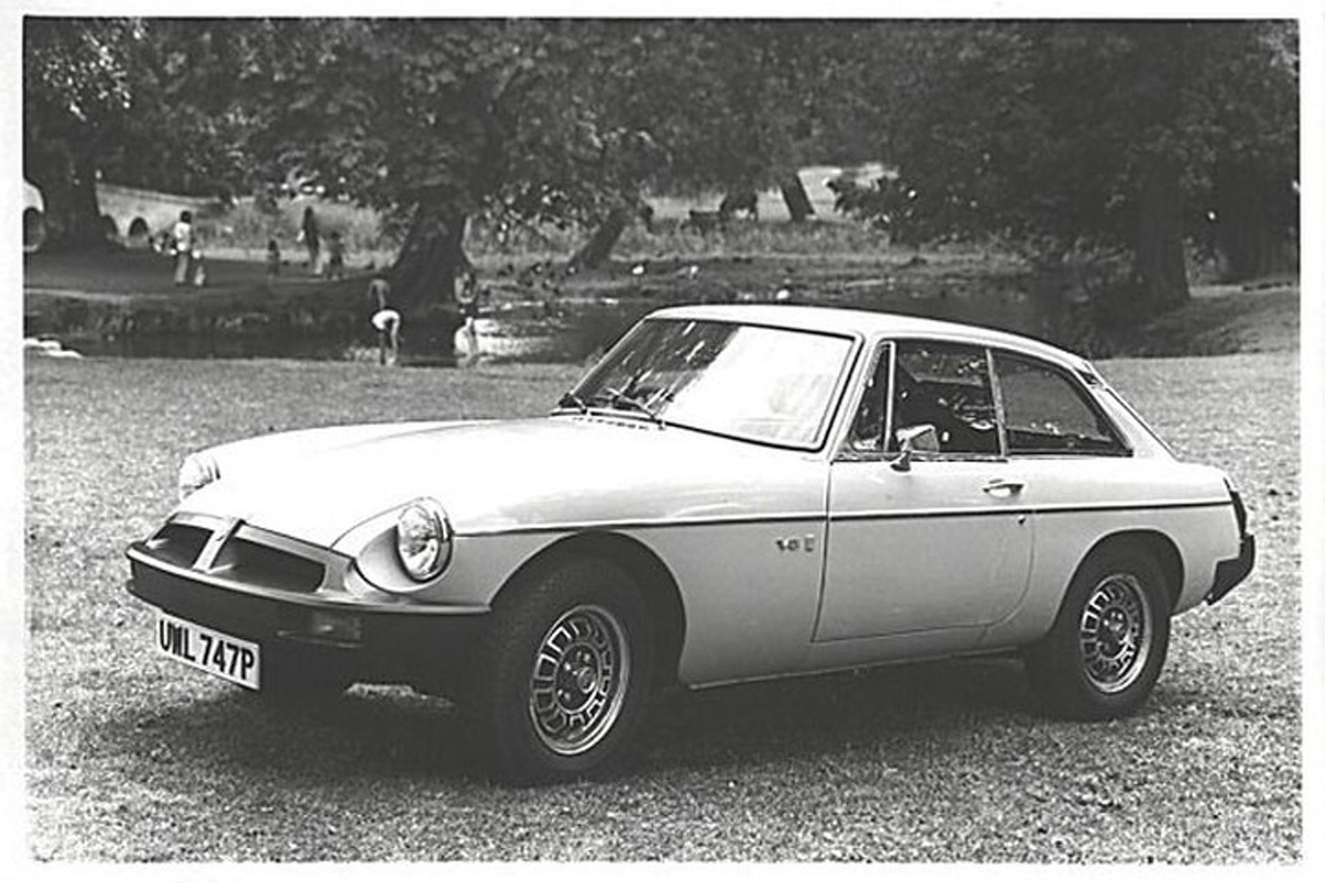Small, Rare Power: The MGB GT V8
