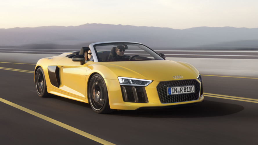 New Audi R8 V10 Spyder priced at €179,000 in Europe
