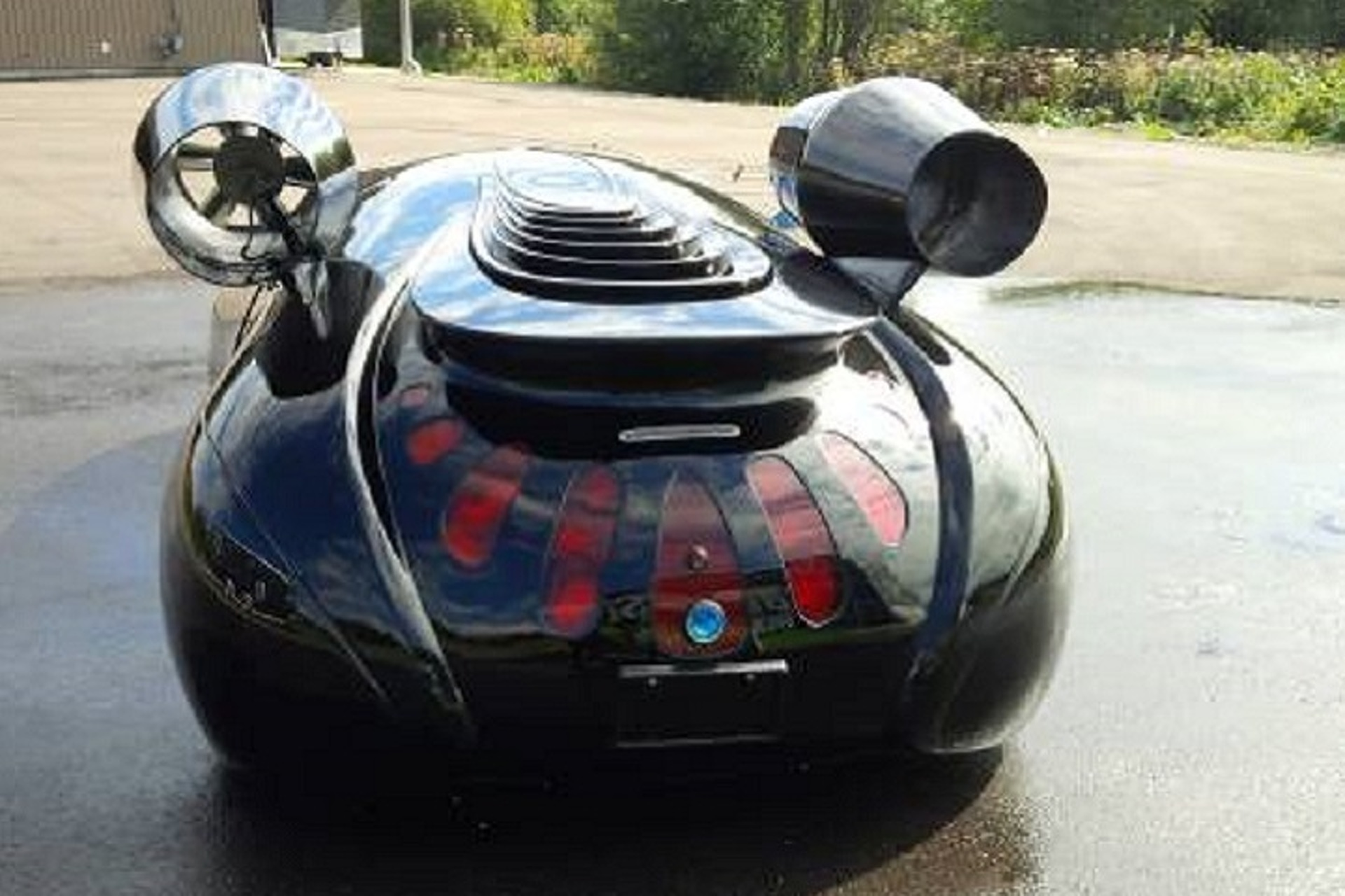 Spaceship-Like ETV Electric Car Can Be Yours For $75K