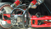 Conversion kit adds extra wheel to unique Slingshot motorcycle