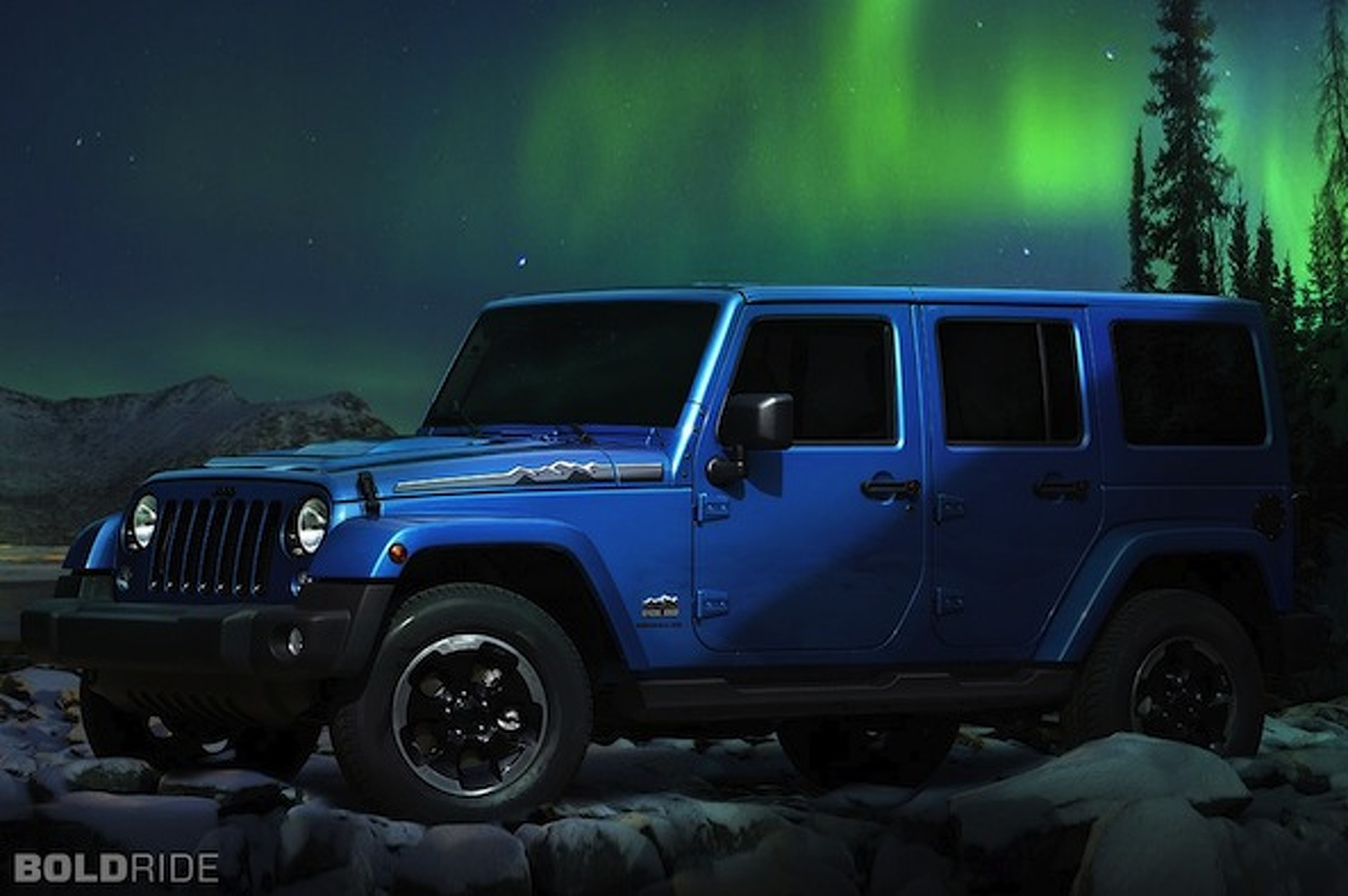 Jeep Wrangler Polar Edition Brings the Chill Factor to Frankfurt