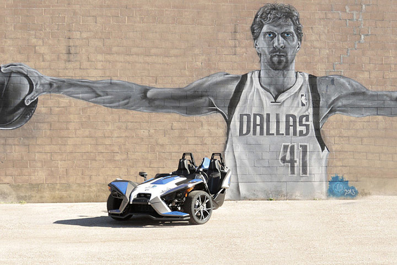 The Dallas Mavericks are Selling this Signed Polaris Slingshot on eBay