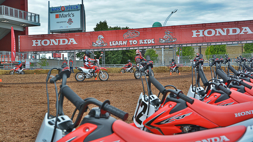 Honda World at Toronto Indy showcases off-track action