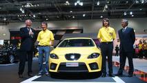 New Seat Leon Cupra Unveiling at BIMS