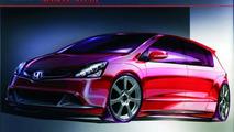 Honda Civic 5 door design study