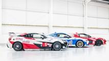 Toyota 86 Le Mans Geritage liveries