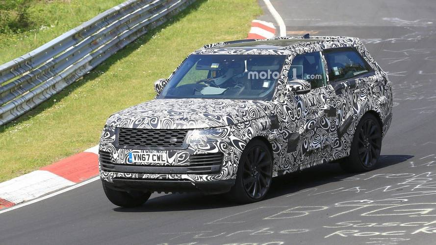 Range Rover SV Coupe Makes Unusual Appearance At Nurburgring