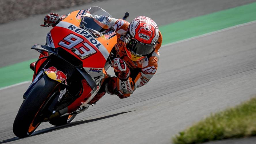 Márquez se lleva la pole de MotoGP in extremis en Sachsenring