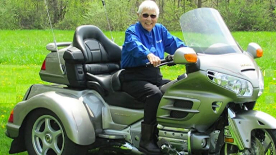 91-Year-Old Still Touring On Gold Wing Trike