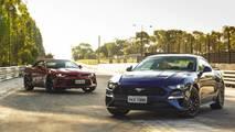 Comparativo - Ford Mustang GT vs. Chevrolet Camaro SS