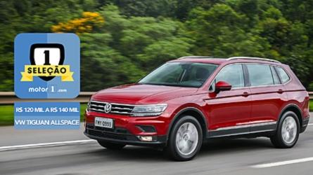 Seleção Motor1.com: VW Tiguan AllSpace vence categoria de R$ 120 mil a R$ 140 mil