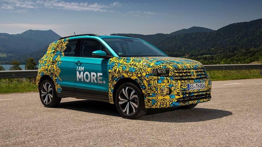 Volkswagen descarta T-Cross para EUA e Canadá por ser compacto demais