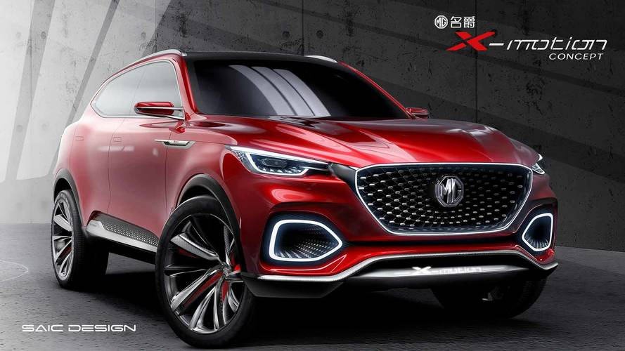 MG X-Motion Concept
