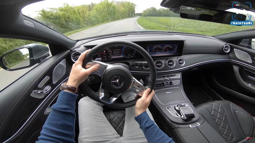 See What It's Like To Drive The Mercedes CLS 450 4Matic Edition 1