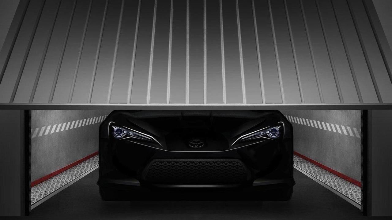 Toyota FT-86 II teaser ahead of Geneva 26.01.2011