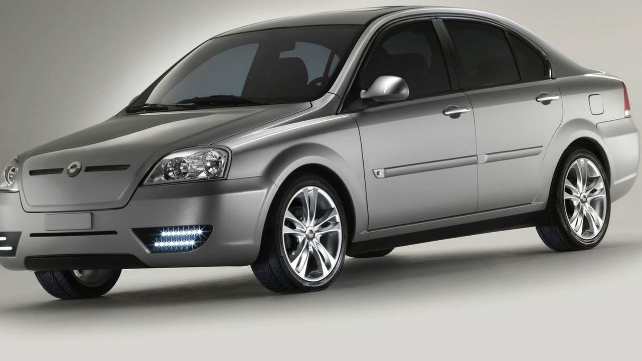 Coda Automtoive electric vehicle sedan 2012