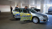 Ford Fusion Hybrid Drives 1445 Miles on Single Tank - Sets new World Record