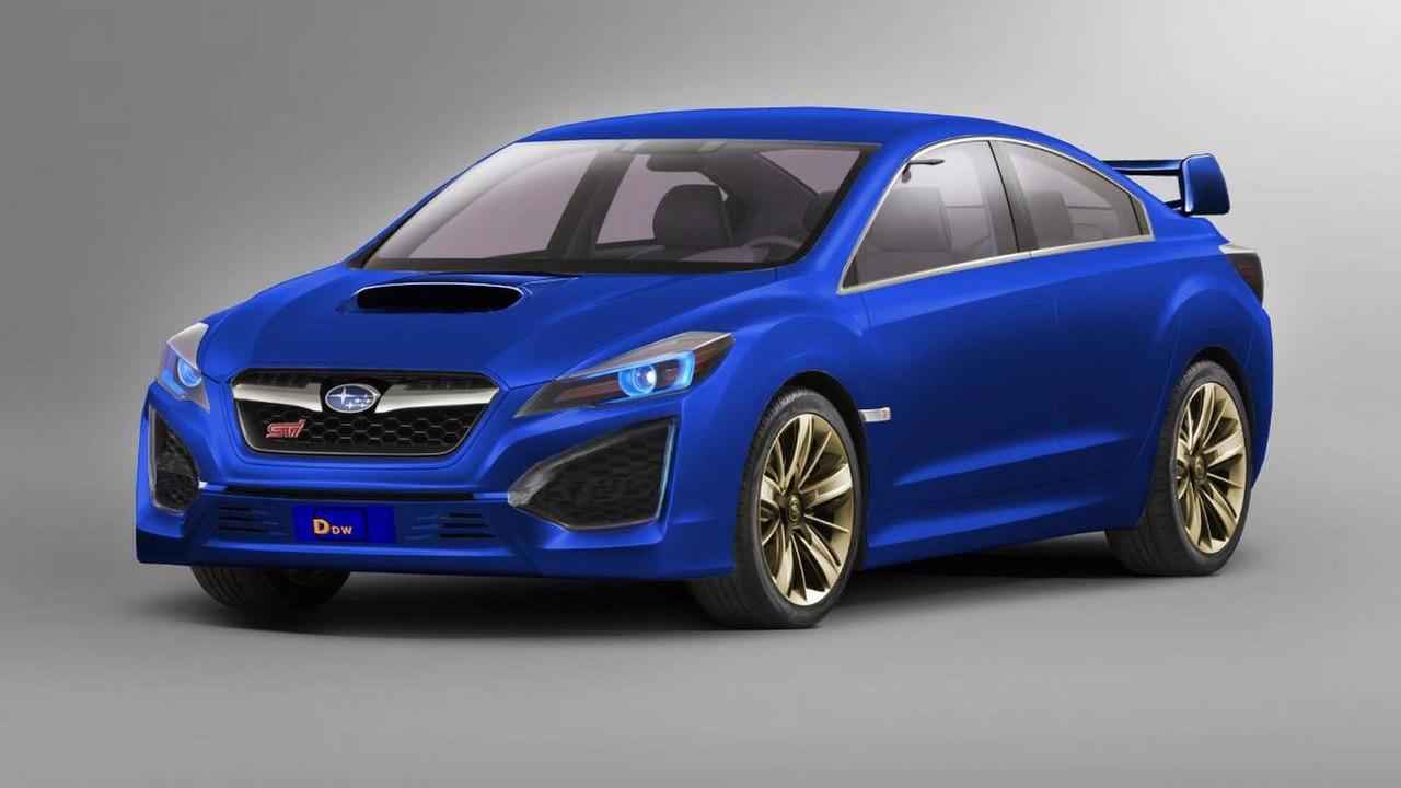 2010 Subaru (Impreza) WRX STI Concept - FUN. Excitement. FANTASTIC!
