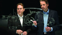 Stefan Sielaff, Head of Design at AUDI AG, and Danny Garand, Audi desginer, talk about the new Audi A1