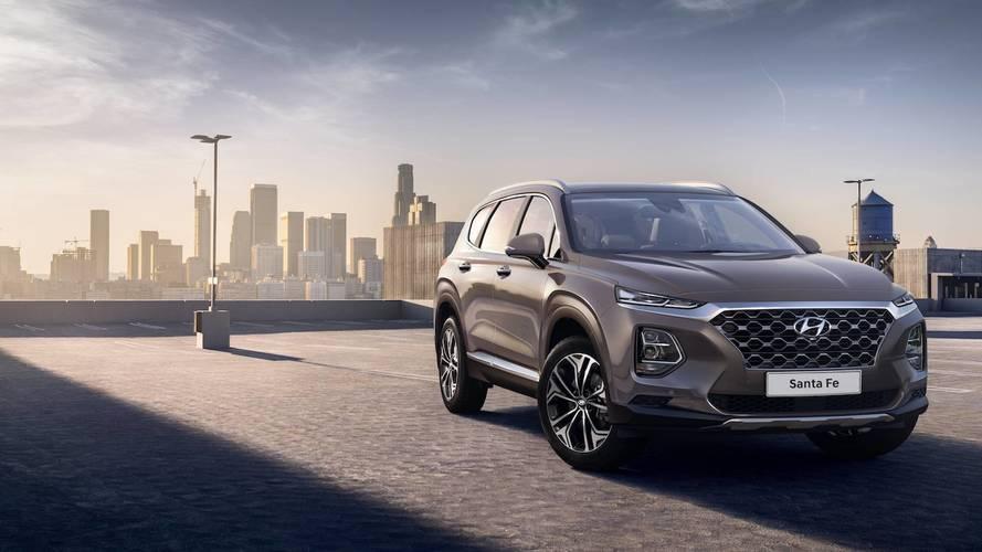 Hyundai Santa Fe 2018: primeras imágenes oficiales (actualizado)