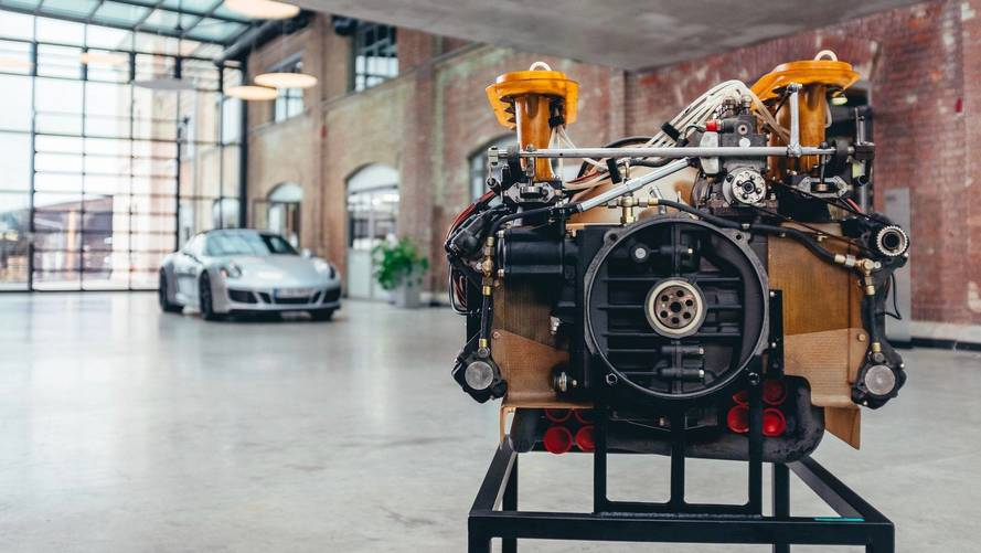 Porsche Shows What's So Great About The Boxer Engine