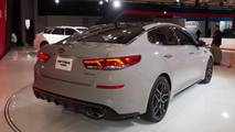 2019 Kia Optima at the 2018 New York Auto Show